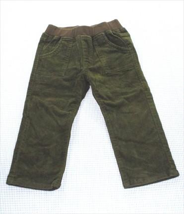 ミキハウス MIKIhouse パンツ 長ズボン 90cm 緑系...