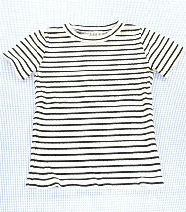ブランシェス BRANSHES Tシャツ 半袖 120cm 白系 ...