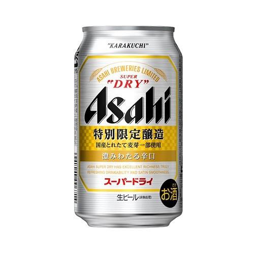 アサヒ スーパードライ 澄みわたる辛口 350ml 缶...