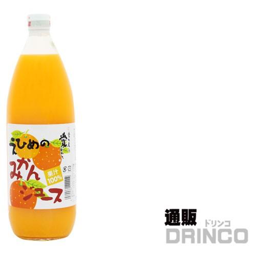 伯方果汁 えひめのみかんジュース 1L 瓶 2ケース ...