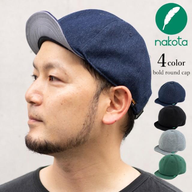 nakota ナコタ BOLD ROUND キャップ つば短  ベー...