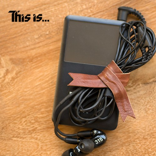 This is... (ディスイズ) Leather Cable Band ...
