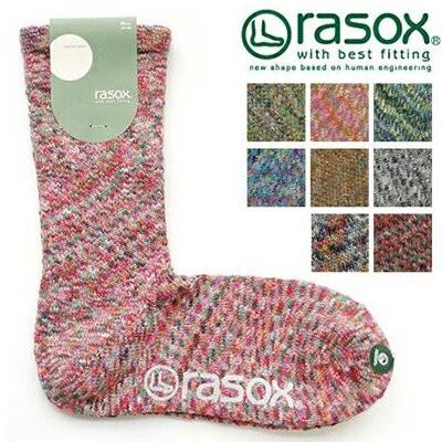 rasox ラソックス ソックス 靴下 ミディアム 快適...