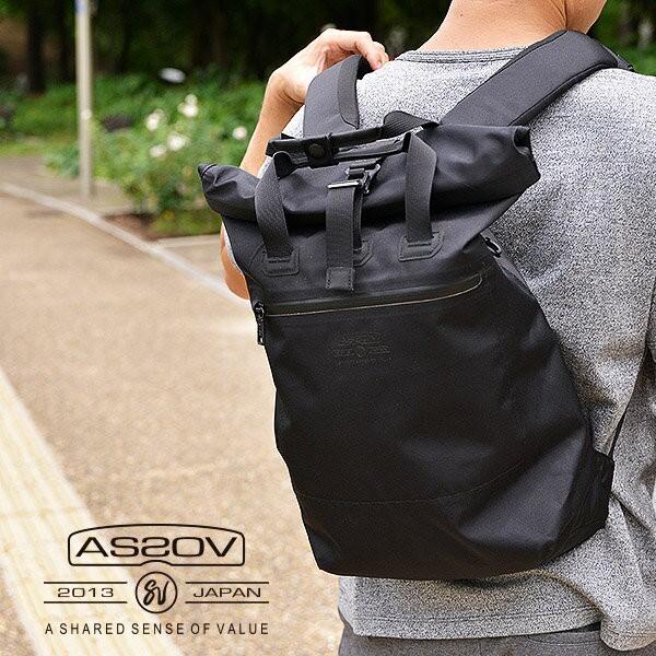 AS2OV アッソブ 防水 バックパック リュック 鞄 ...