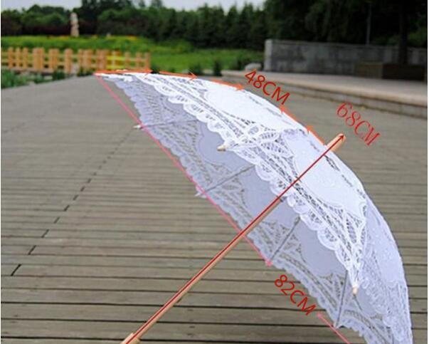 日傘 レース 総レース バテン ウェディング 日傘 ...