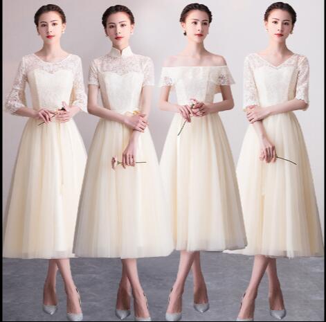 ナイトドレス、シャンパン 結婚式 薄い 春夏 短い...