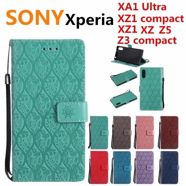 Xperia XA1 Ultraケース XZ1 XZ Z3 Compact 貝柄 ...