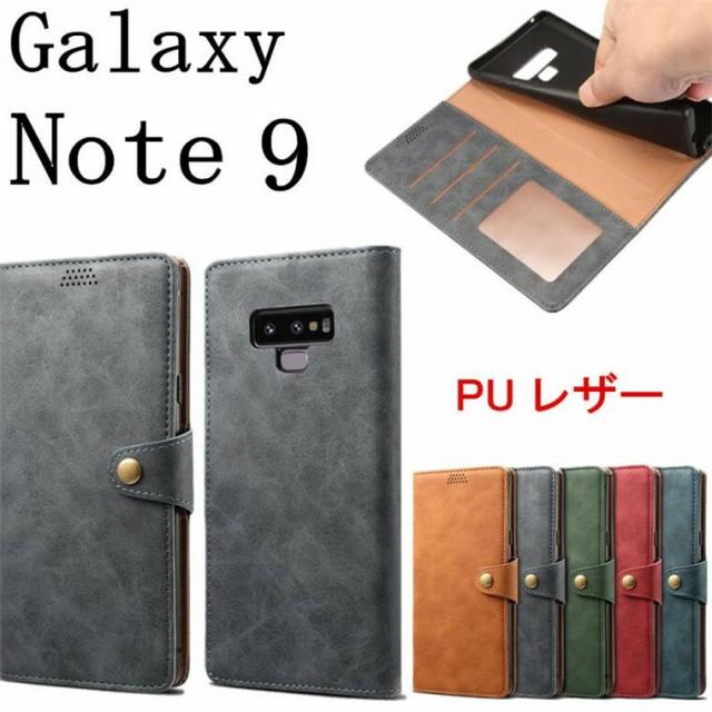 Galaxy Note 9 ケース Galaxy Note9 カバー 手帳...