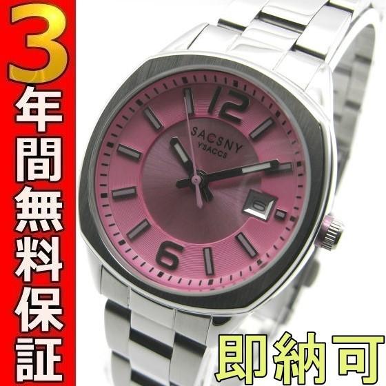 即納可 サクスニーイザック 腕時計 SY-15046S-PK ...