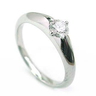 婚約指輪 エンゲージリング プラチナ ダイヤモン...