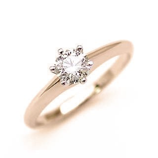 婚約指輪 ダイヤモンド リング 立爪 ダイヤ エン...