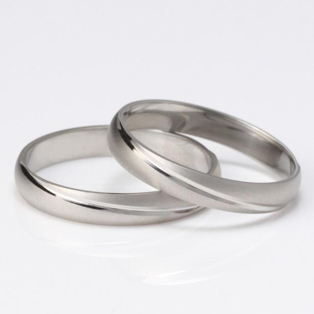 メンズリング つや消し 結婚指輪 マリッジリング ...