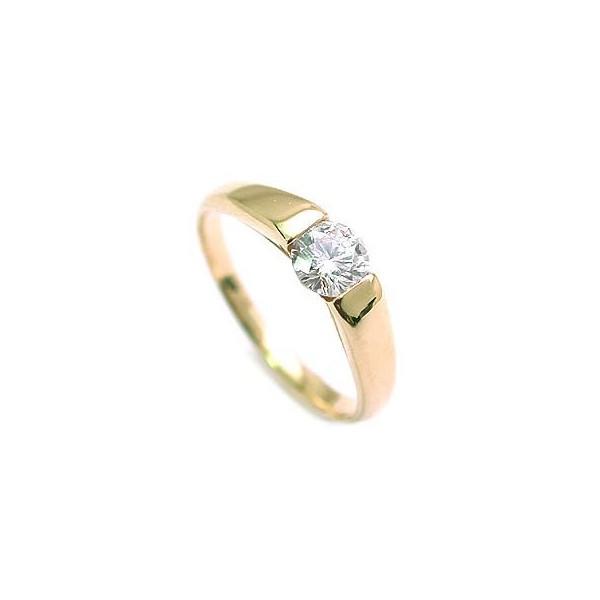 婚約指輪 ダイヤモンド 指輪 ゴールド リング ダ...
