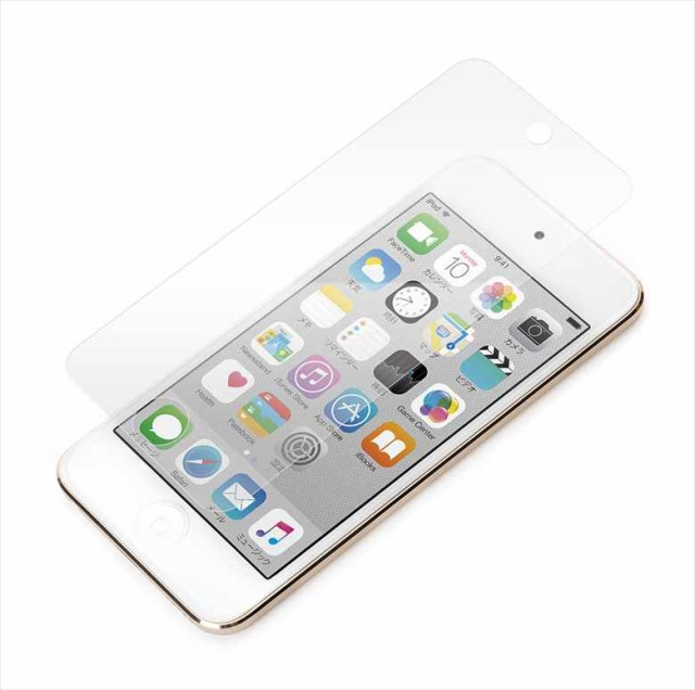 iPod touch 6th/5th対応液晶保護フィルム 気泡消...