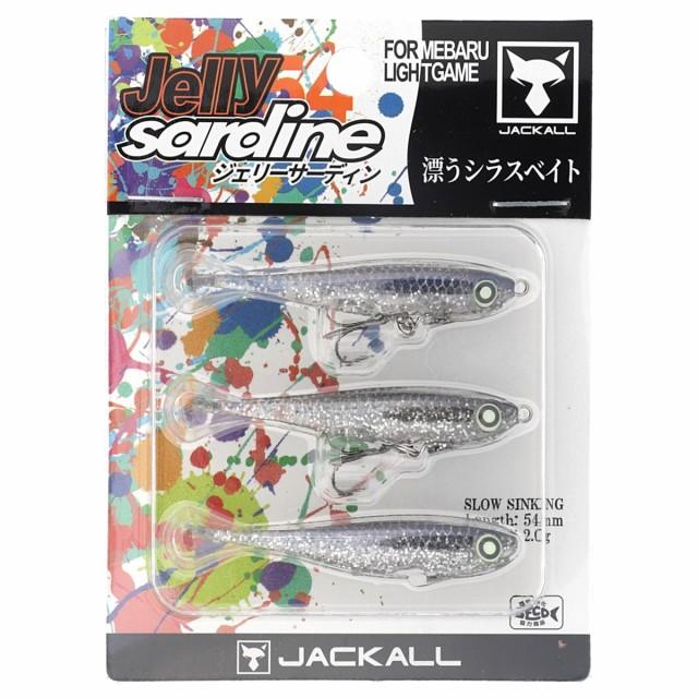 ジャッカル JELLY SARDINE54 ホログラムシルバー...