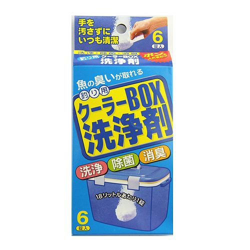 クーラーBOX洗浄剤【ゆうパケット】