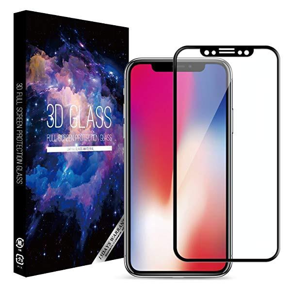 送料無料 iPhone X/iPhone Xs 用 ガラス フィルム...