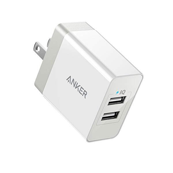 PowerPort 2 Eco (12W 2ポート USB急速充電器) iP...