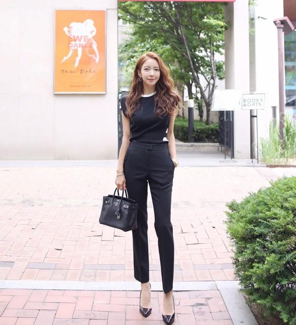 韓国 ファッション レディース 上下セット ツーピ...