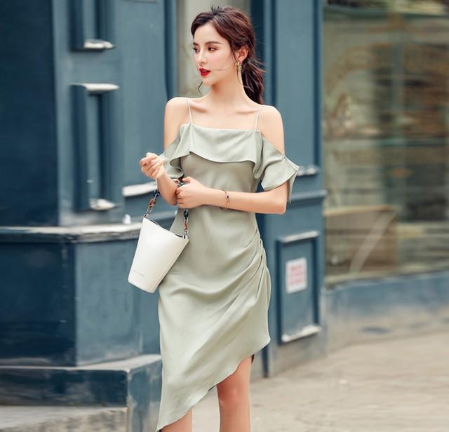 韓国 ファッション レディース ワンピース ドレス...