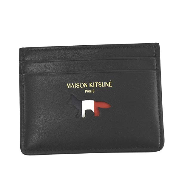 MAISON KITSUNE メゾンキツネ AU05305LC0003 TRIC...