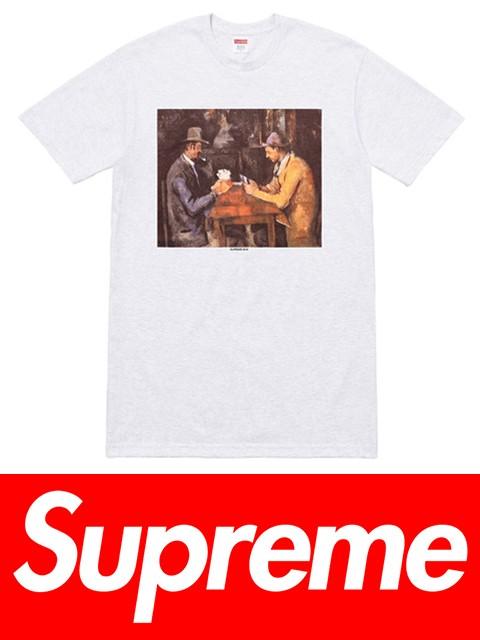送料無料 メンズ Tシャツ アッシュグレー Supreme...