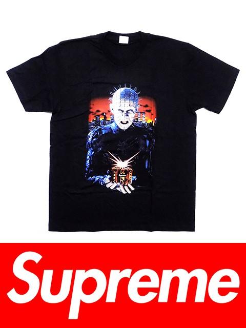 送料無料 メンズ Tシャツ ブラック Supreme シュ...