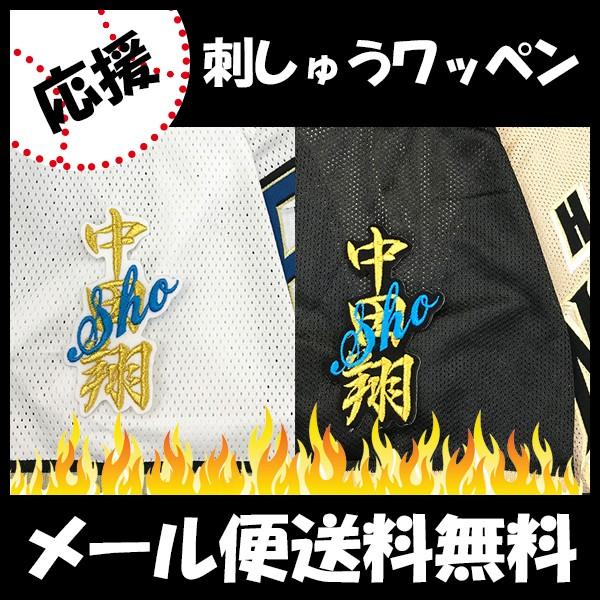 日本ハムファイターズ 刺しゅうワッペン 中田 ネ...