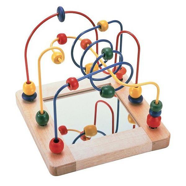ビーズコースター 知育のおもちゃの定番 1才 2才 ...