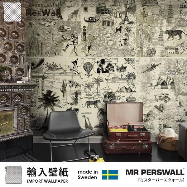 輸入壁紙 スウェーデン製 MR PERSWALL Destinatio...