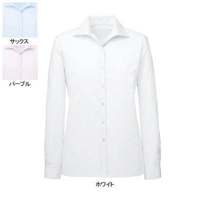 事務服・制服・オフィスウェア  ヌーヴォ FB75529 ブラウス(長袖) 5号〜19号
