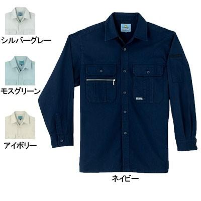 作業服・作業着 桑和(SOWA) 225 長袖シャツ M〜L...