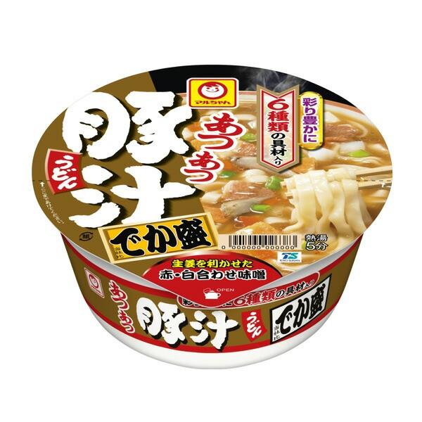 マルちゃん あつあつ豚汁うどん でか盛 139g×12...