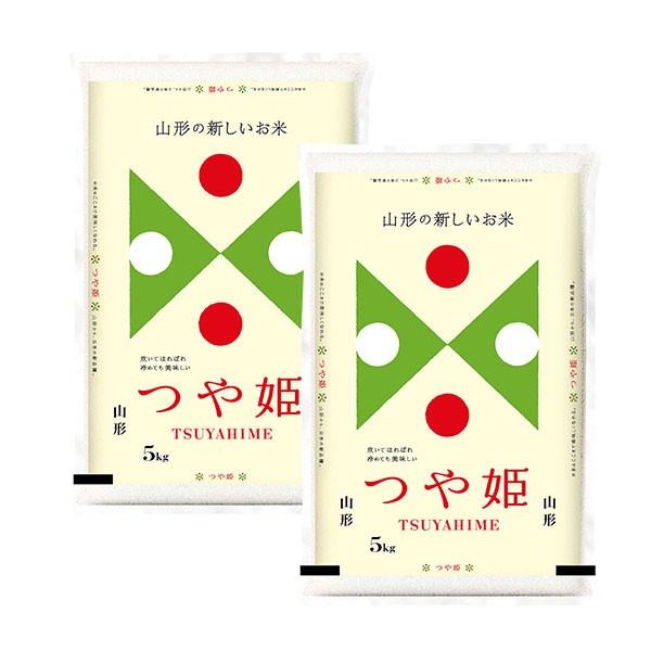 【送料無料】山形県産 つや姫 5kg×2 (計10kg)...