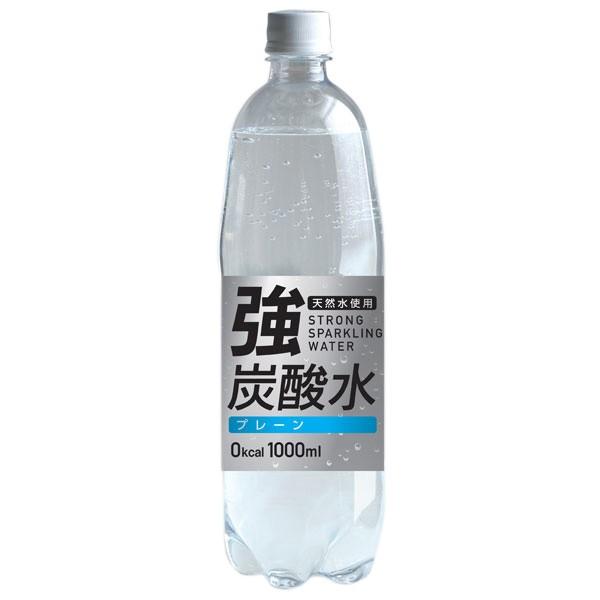 友桝飲料 強炭酸水 (富士薬品) 1000ml×15本入り ...