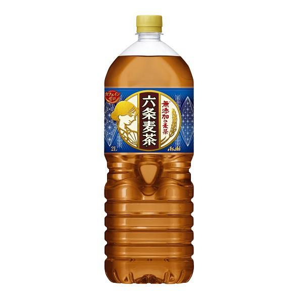 アサヒ 六条麦茶 PET2L  6本入り×1ケース 【クレ...