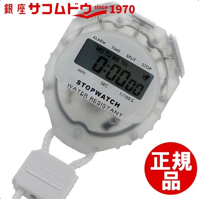 デジタルストップウォッチ 日常生活防水仕様 クリ...