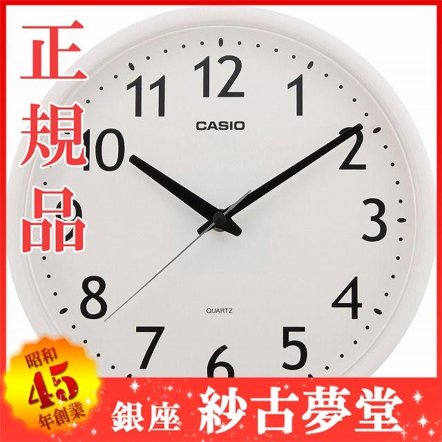 CASIO CLOCK カシオ クロック 壁掛け時計 IQ-58-7...