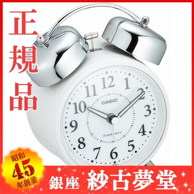 CASIO カシオ クロック CLOCK 目覚し時計 電波時...
