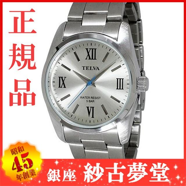 メンズ ウォッチ 腕時計 TELVA テルバ TE-AM027-S...