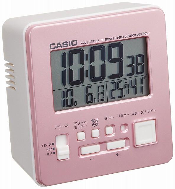 CASIO CLOCK カシオ クロック デジタル電波目覚ま...