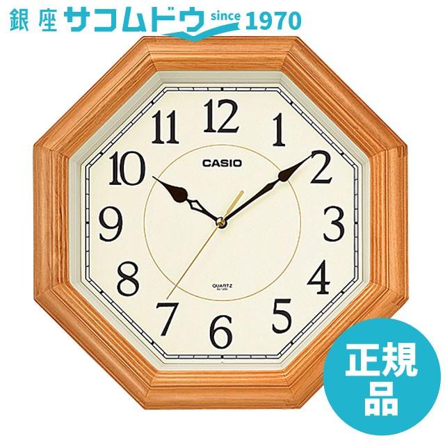 CASIO CLOCK カシオ アナログ掛時計 スムーズ運針...