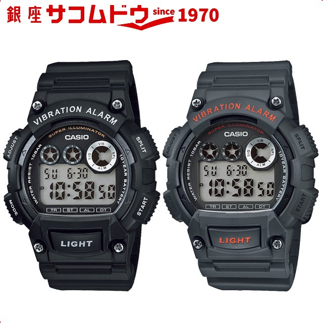 カシオ CASIO 腕時計 スタンダード W-735H-1AJH W...