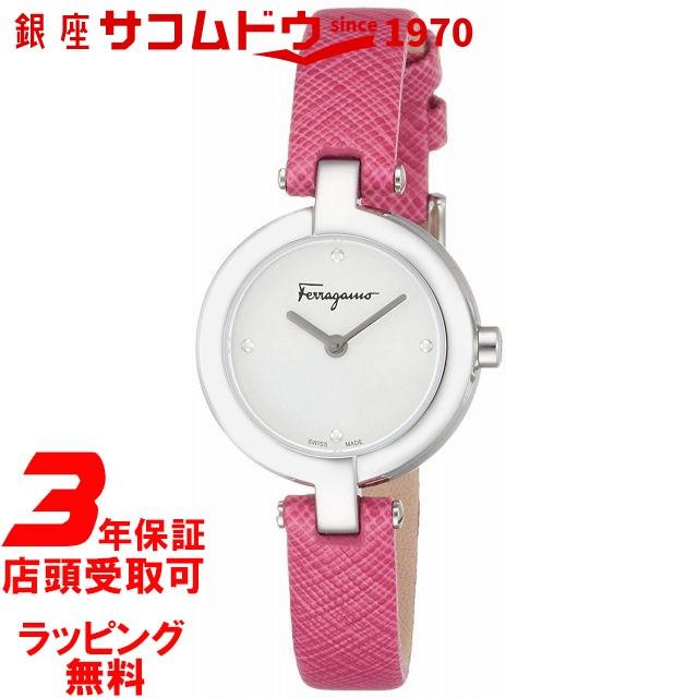 [フェラガモ] Salvatore Ferragamo 腕時計 MINIATURE シルバー文字盤 FAT010017 レディース 【並行輸入品】