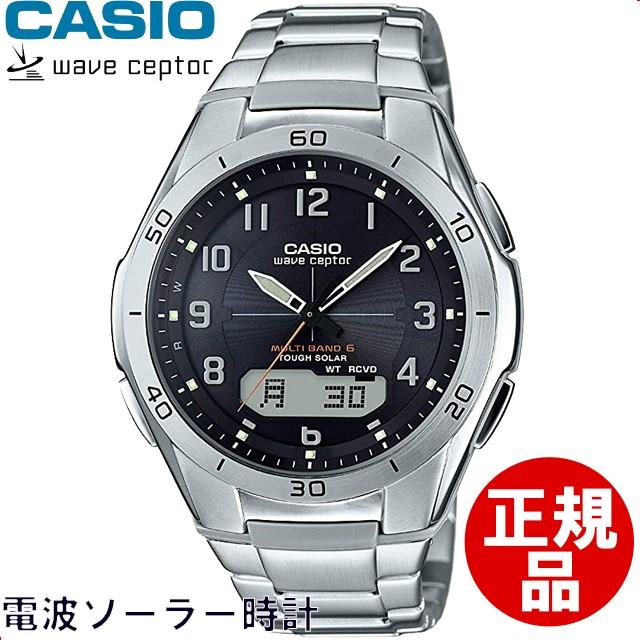 カシオ CASIO 腕時計 WAVECEPTOR ウェーブセプタ...