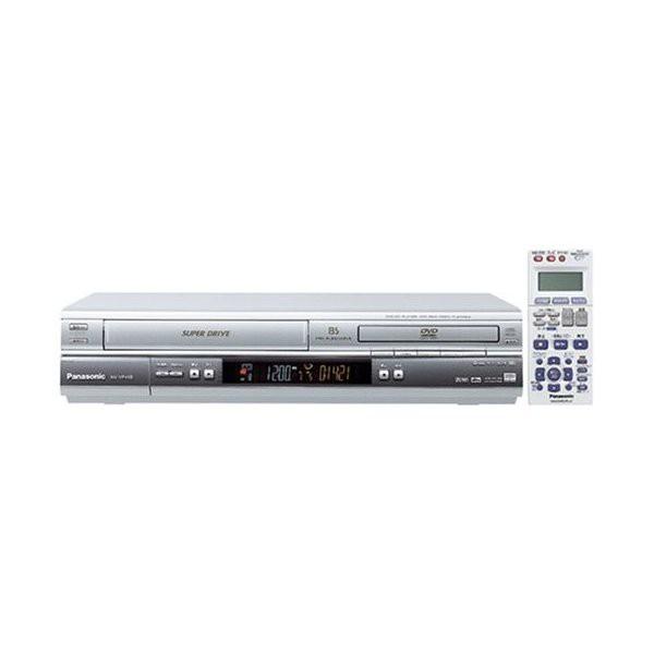 パナソニック DVDプレーヤー VHSビデオ一体型 NV-...