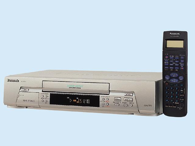【中古 保証付】Panasonic  VHSハイファイビデオ...