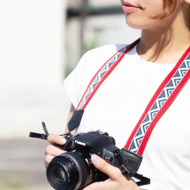 カメラストラップ 一眼レフ かわいい おしゃれ か...