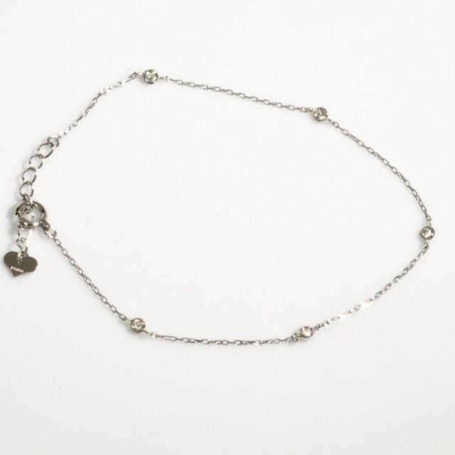 プラチナ ダイヤモンド ブレスレット pt850 レデ...