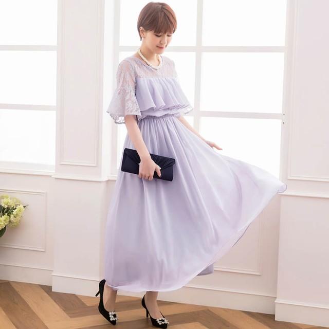 結婚式 ワンピース ドレス 20代 30代 パーティー...